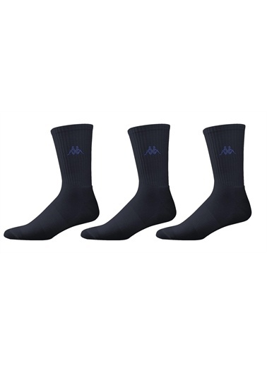 Kappa Kısa Konç Çorap 3 Lü Pk  Lacivert